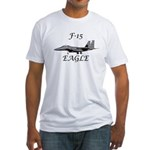 F-15 Eagle Fitted T-Shirt