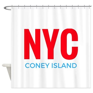 Coney Island Shower Curtains