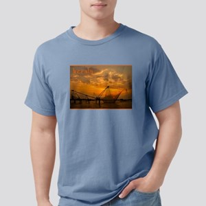 Chinese Fishing Nets at Sunset T-Shirt