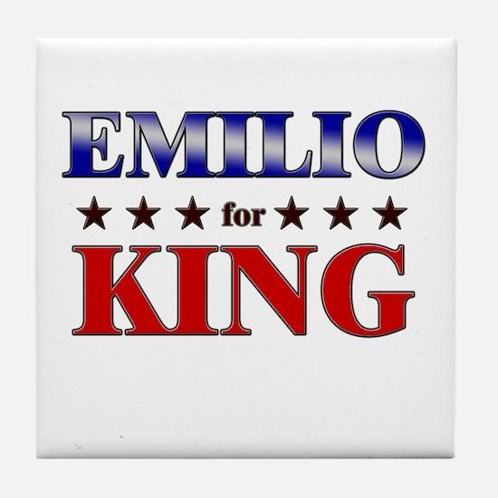 EMILIO for king Tile Coaster
