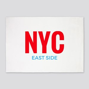NYC East Side 5'x7'Area Rug