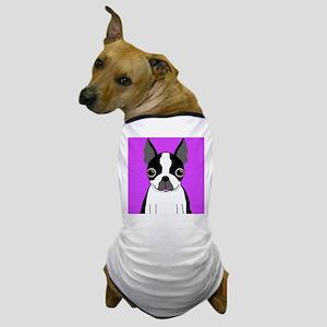 Boston Terrier (Black) Dog T-Shirt