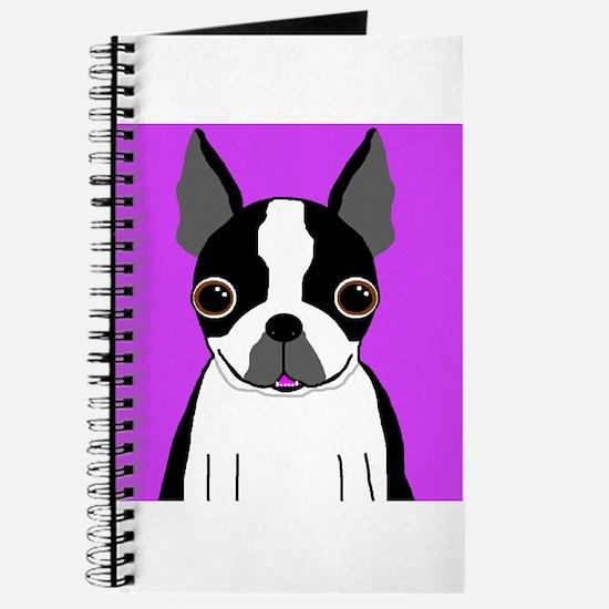 Boston Terrier (Black) Journal