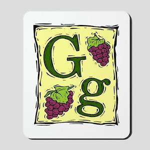 Gg....GRAPE Mousepad