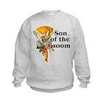Jumping the Broom Son of the Groom Kids Sweatshirt