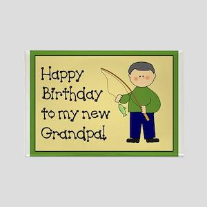 New Grandpa Birthday Rectangle Magnet