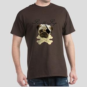 Pirate Pug - Dark T-Shirt