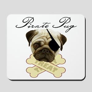 Pirate Pug - Mousepad