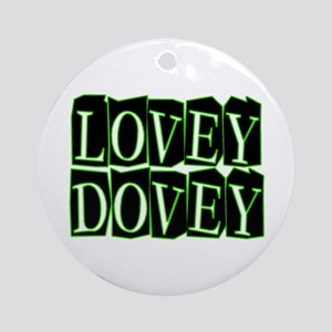 Lovey Dovey Ornament (Round)
