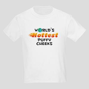 World's Hottest Puffy.. (C) Kids Light T-Shirt