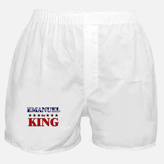 EMANUEL for king Boxer Shorts