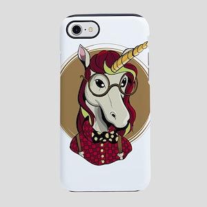 Hipster Unicorn iPhone 8/7 Tough Case