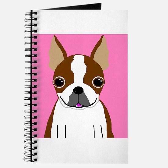 Boston Terrier (Brown) Journal