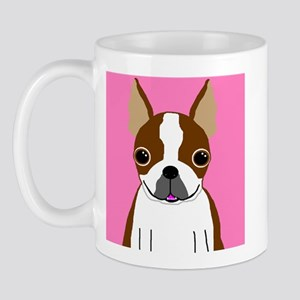 Boston Terrier (Brown) Mug