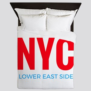 NYC Lower East Side Queen Duvet