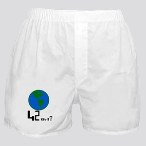42 what? world -  Boxer Shorts