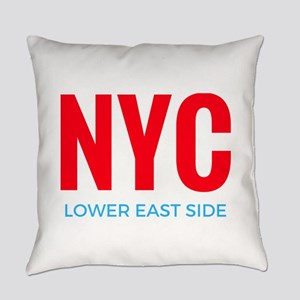 NYC Lower East Side Everyday Pillow