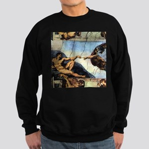 Michelangelo Creation Of Adam Sweatshirt