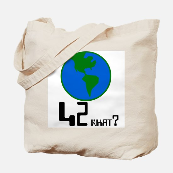 42 what? world -  Tote Bag