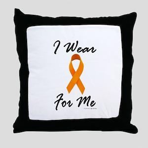 I Wear Orange For Me 1 Throw Pillow
