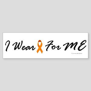 I Wear Orange For Me 1 Bumper Sticker