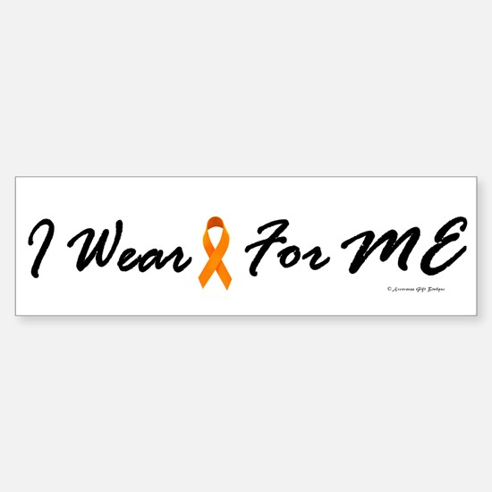 I Wear Orange For Me 1 Bumper Bumper Bumper Sticker