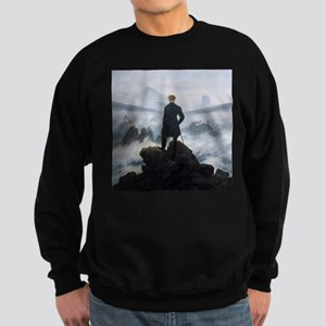 Caspar David Friedrich Wanderer Sweatshirt