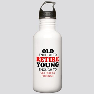Funny retirement Stainless Water Bottle 1.0L