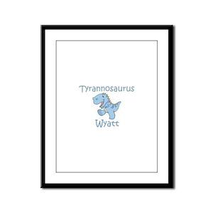Tyrannosaurus Wyatt Framed Panel Print