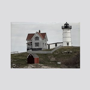 Nubble Lighthouse Sketch 8x10 Magnets