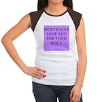 mortician gifts t-shirts Women's Cap Sleeve T-Shir