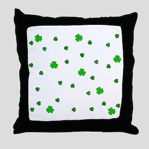 Little Shamrock's Throw Pillow