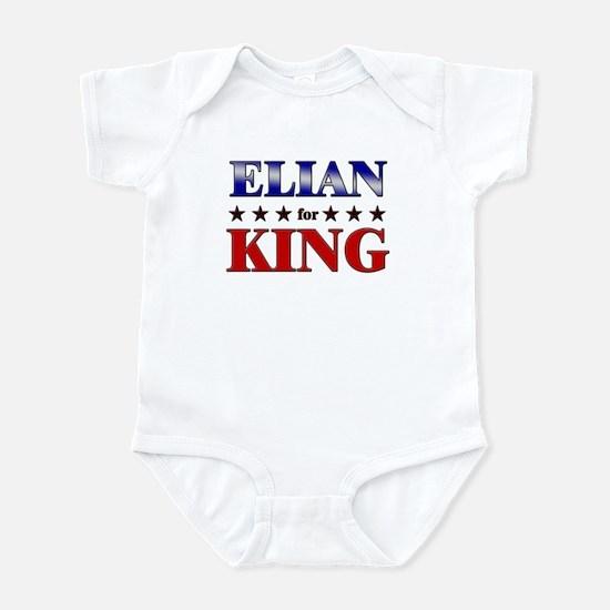ELIAN for king Infant Bodysuit