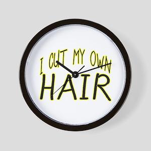 Hair Cut Wall Clock