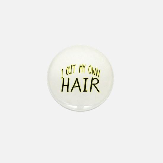 Hair Cut Mini Button