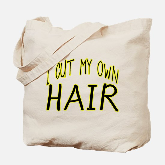 Hair Cut Tote Bag