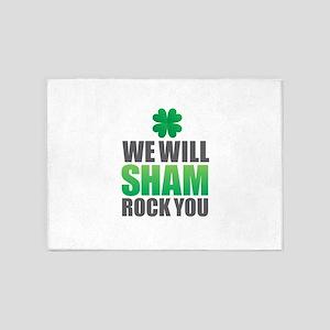 We Will Shamrock You 5'x7'Area Rug