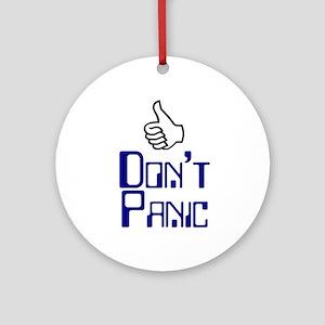 Don't Panic -  Keepsake (Round)