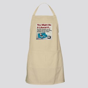 Liberals enjoy loafing BBQ Apron
