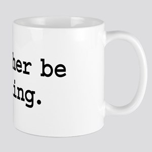 i'd rather be moshing. Mug