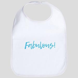Fabulous - Blue Baby Bib