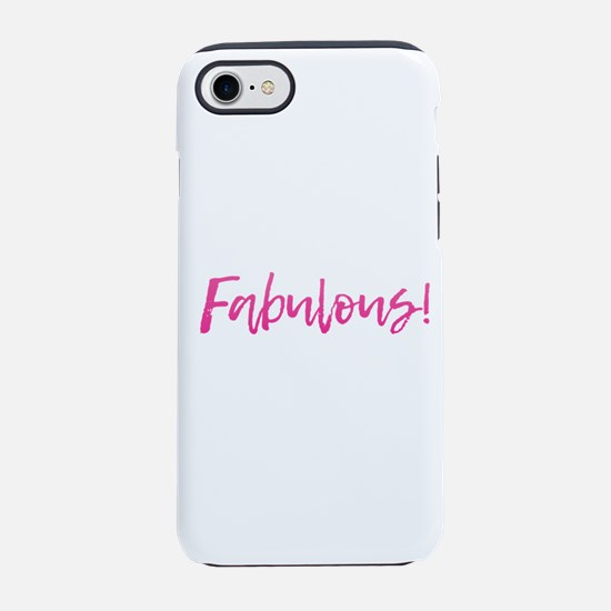 Fabulous - Pink iPhone 8/7 Tough Case