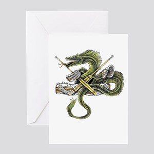 Goalcrease Guardian Greeting Cards