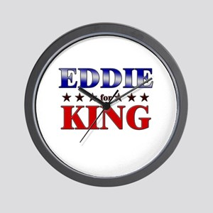 EDDIE for king Wall Clock