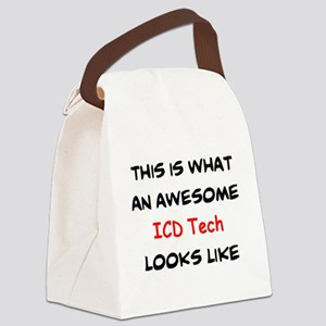 awesome icd tech Canvas Lunch Bag