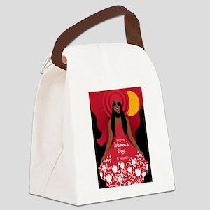 boho international womens day Canvas Lunch Bag