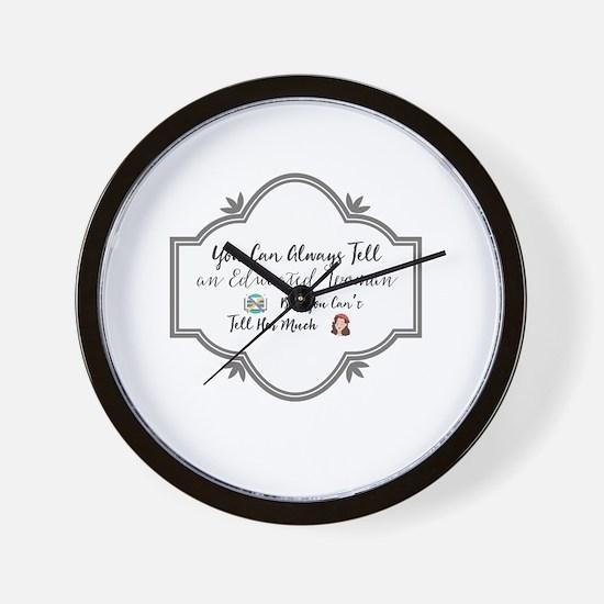 Unique Simple icon Wall Clock