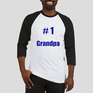 #1 Grandpa Baseball Jersey