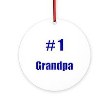 #1 Grandpa Keepsake (Round)