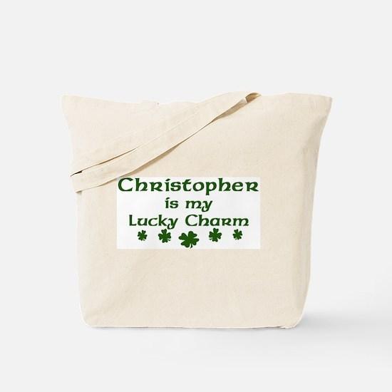 Christopher - lucky charm Tote Bag
